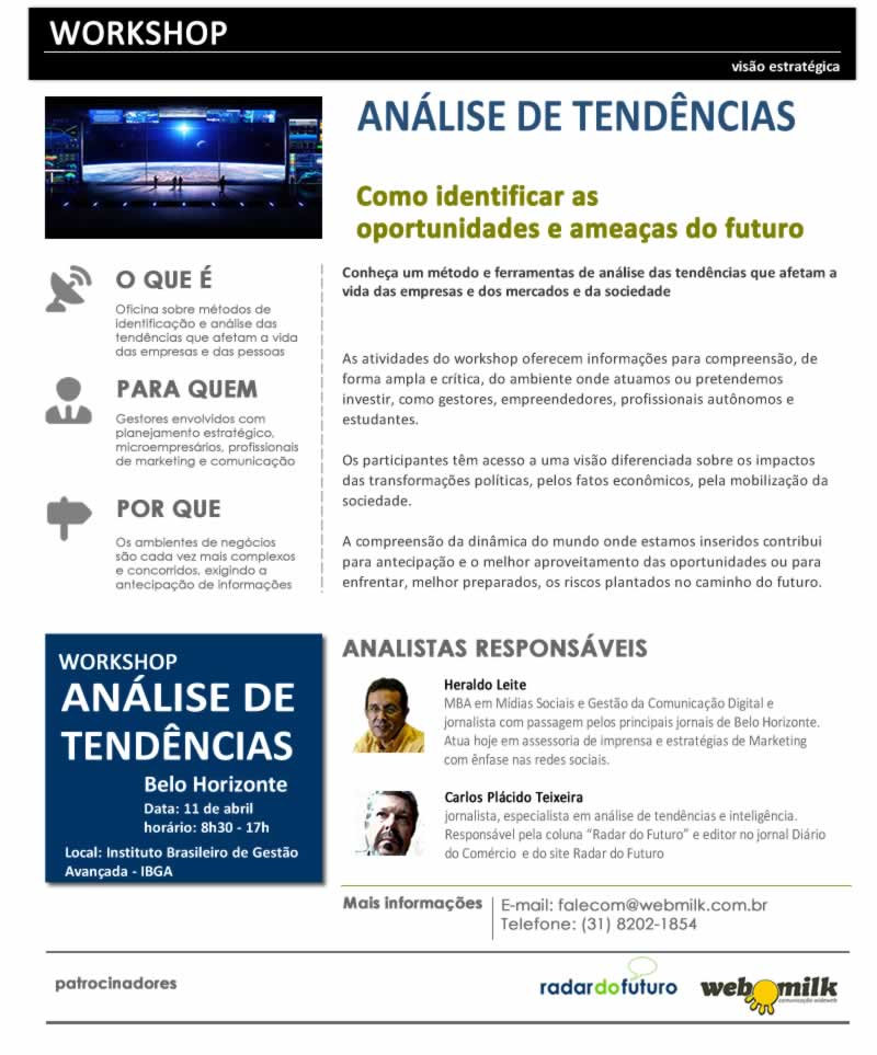 workshop analise de tendencias